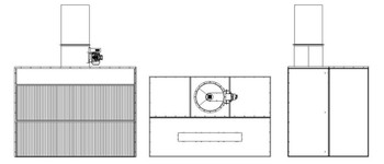 Dry Filter Spray Booths with Axial Flow Fan