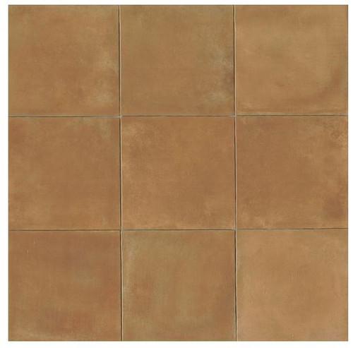 Cotto Europa: Terra Cotta Porcelain Tile 14x14 Gloss Finish Cotto Field Tile  Caramel