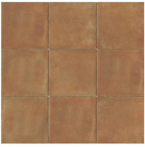 Cotto Europa: Terra Cotta Porcelain Tile 14x14 Matte Finish Cotto Field Tile Caramel