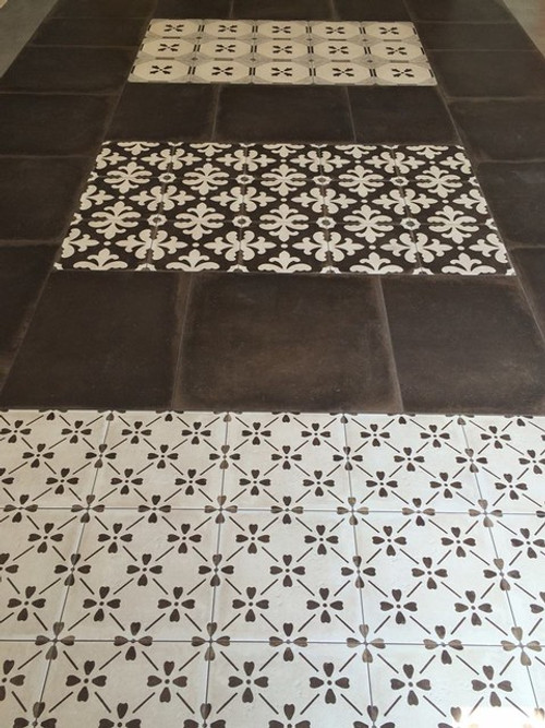 Palatial Porcelain Tile Collection Installed in Idea Pads