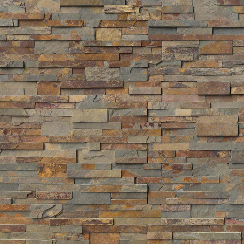 Golden Firestone 6x24 Ledgerstone Panels