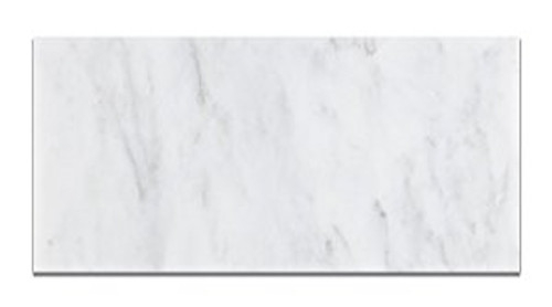 Ocean White Polished 6x12