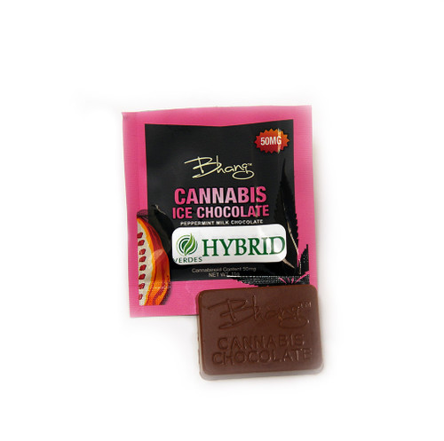 Bhang Peppermint Ice Hybrid Chocolate