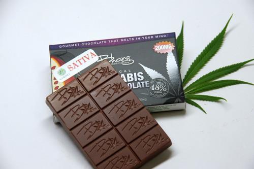 Bhang Sativa Milk Chocolate