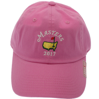 2018 Dated Ladies Masters Pink Caddy Hat