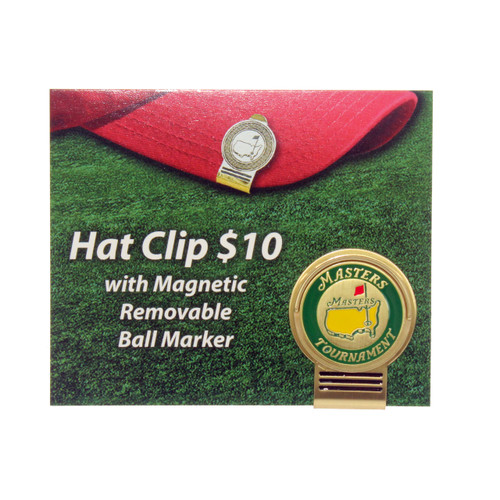2016 Masters Hat Clip