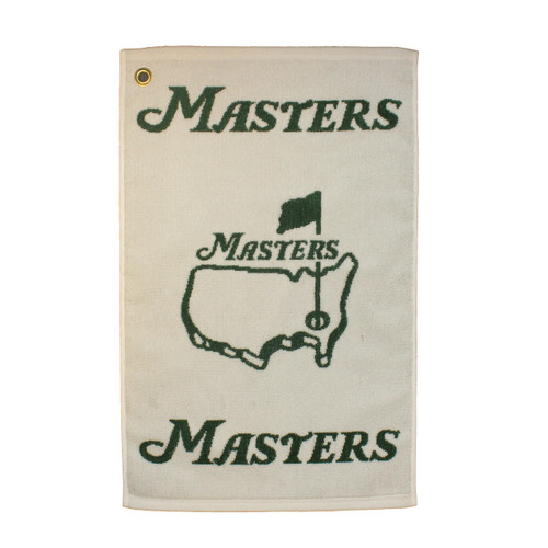 Masters White Players Towel
