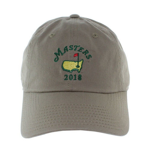 2018 Masters Khaki Caddy Hat