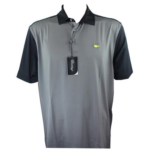Masters Tech Polo Shirt - Black & Grey Block