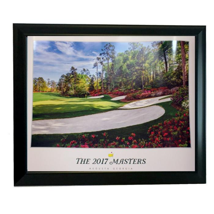 2018 Framed Masters Poster