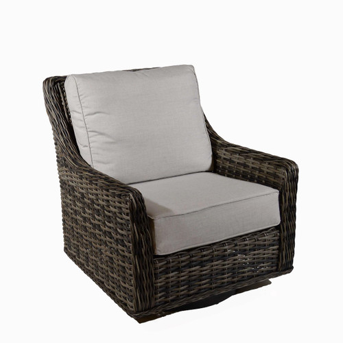 Catalina High Back Lounge Swiveling Glider