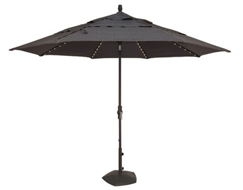 Treasure Garden 9ft Starlight Collar Octagon Tilt Market Umbrella