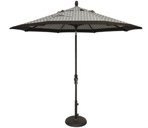 Treasure Garden 9ft Collar Tilt Octagon Market Umbrella