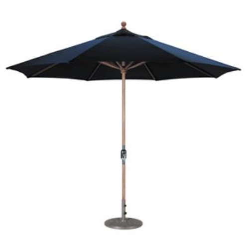 Galtech 11ft Octagon Classic Teak Umbrella