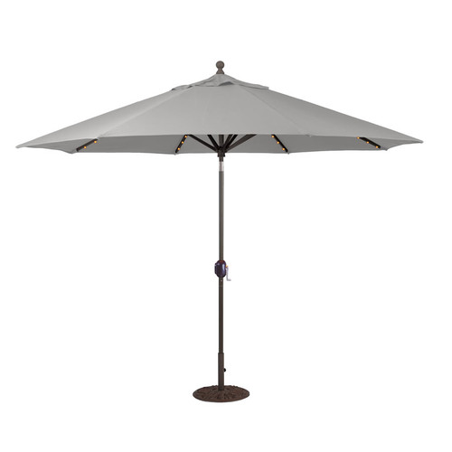 Galtech - 986 - 11' Octagon Umbrella with LED Lights