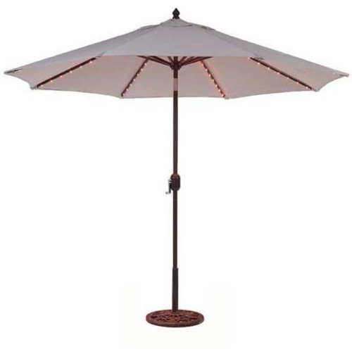 Galtech 9ft Octagon Umbrella with LED Lights