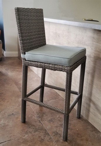 Cabo Armless Bar Stool