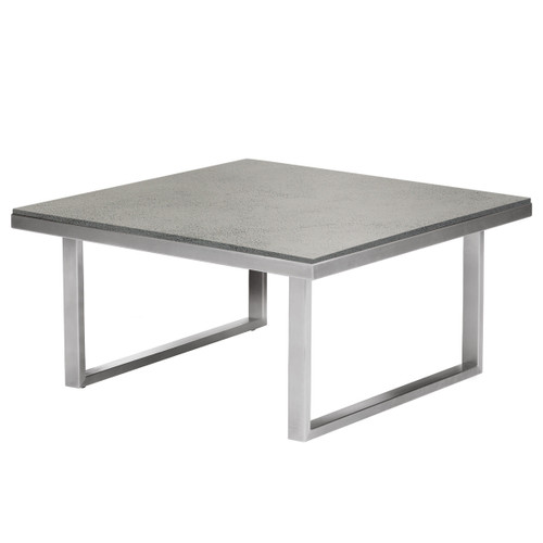 Mercury 30in Square Cocktail Table