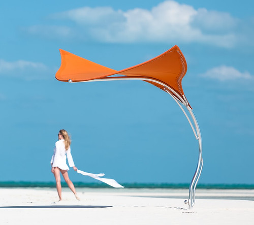 Tuuci Stingray Shade Sculpture By Tucci