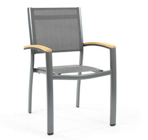 Compass Sling Stacking Chair