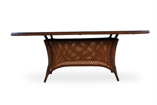 Grand Traverse Oval Umbrella Table