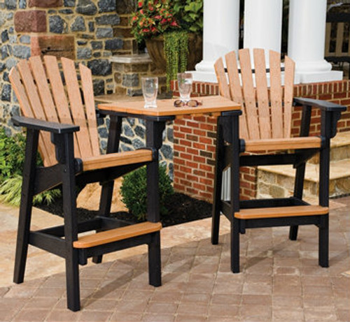 Tete-a-Tete Adirondack Bar Set