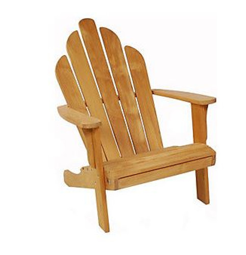 Teak Adirondack Arm Chair