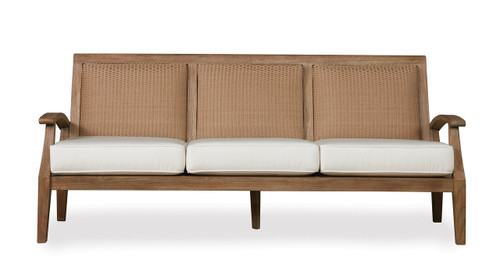 Lloyd Flanders teak Wildwood Sofa outdoor teak furniture