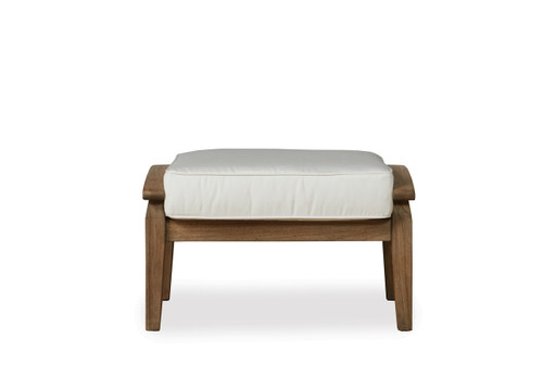 Lloyd Flanders Wildwood teak furniture Ottoman