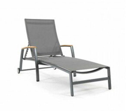 Compass Sling Chaise Lounge Chair