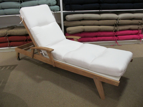 Chaise Lounge Cushion - Canvas Natural