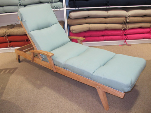 Chaise Lounge Cushion - Canvas Spa