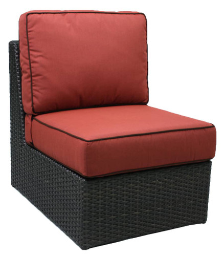 Del Mar Armless Chair