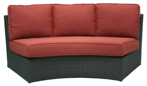 Del Mar Curved Sofa