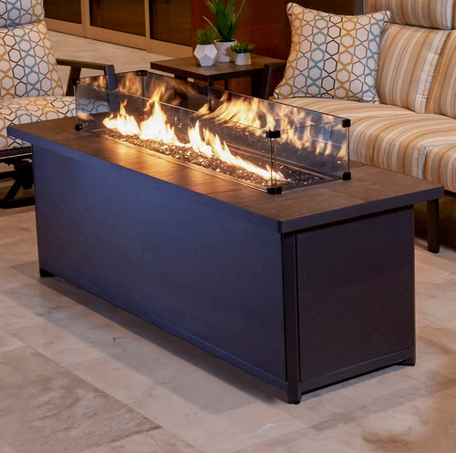 """Metrop Chat 26"""" x 75"""" Height Fire Pit"""
