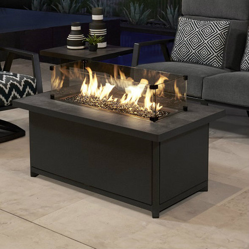 "Metrop Chat 26"" x 45"" Height Fire Pit"