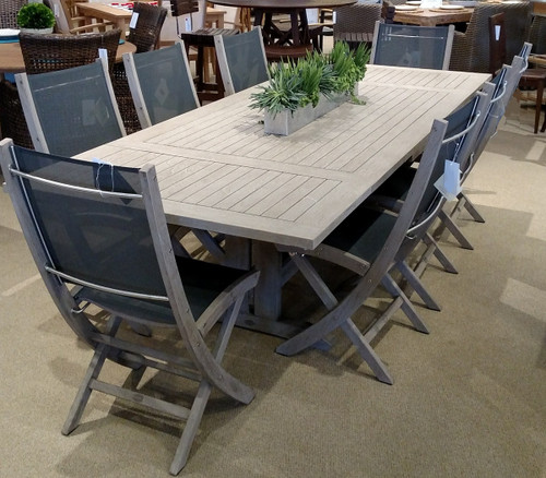 Sillage Teak Extension Dining Table