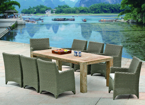 Rio 7-Piece Teak Dining Set