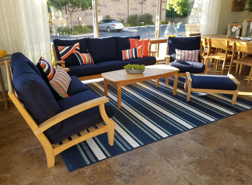 Maya 6-Piece Teak Seating Set