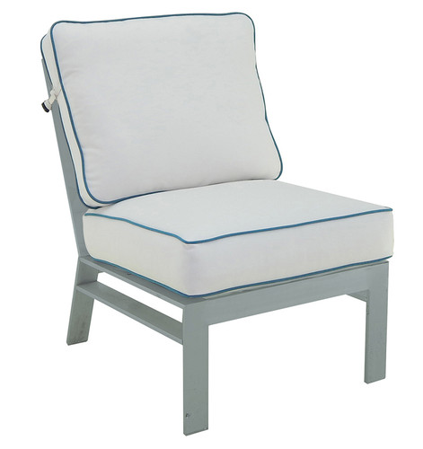 Trento Sectional Armless Lounge Chair