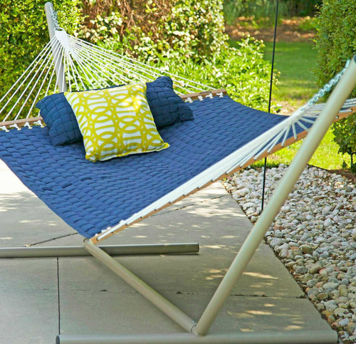 Hatteras Hammock with Tri-Beam Steel Stand