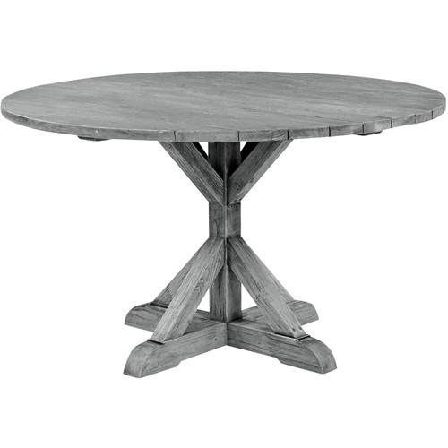 """Provence 59"""" Round Teak Dining Table"""