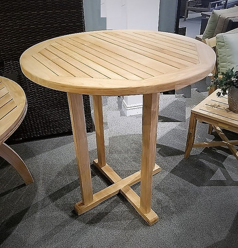 Avalon Teak Bar Table