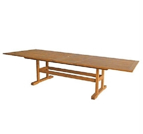 Avalon Double Extension Teak Dining Table
