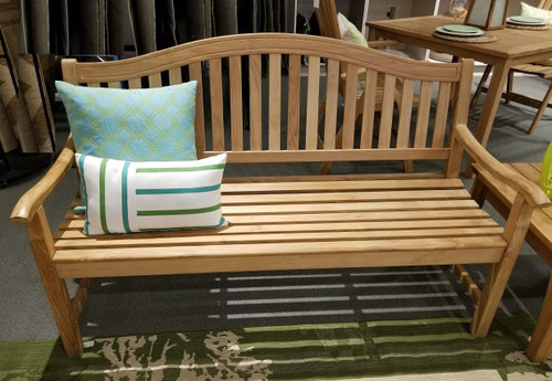 Bow 5ft Teak Bench