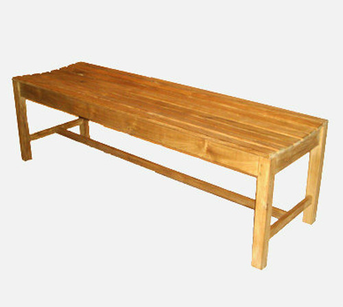 Teak 5' Backless Bench