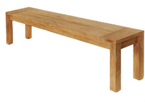 Stafford Backless Teak Bench