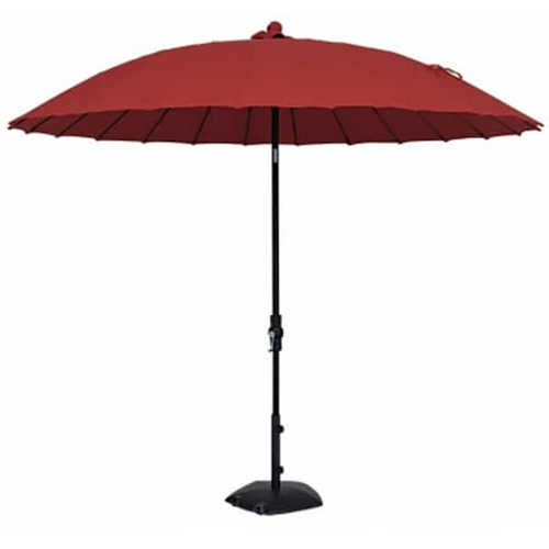 Shanghai 10' Round Collar Tilt Crank Lift Umbrella