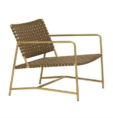 Stretch Lounge Chair with Arms