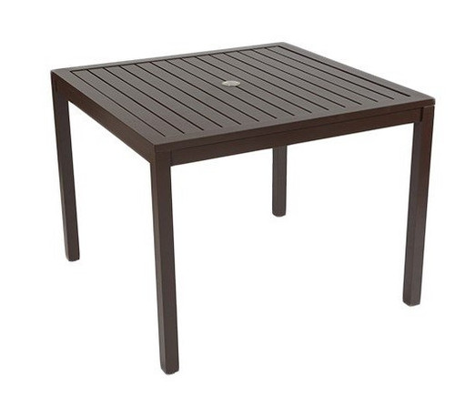 "Compass 38"" Square  Dining Table"